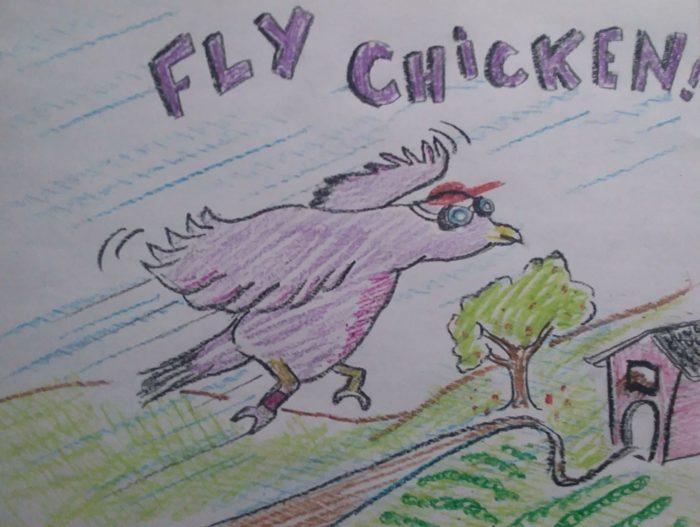Mensaxeiro the Messenger Chicken